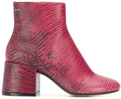 printed boots - PINK