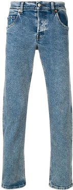 classic tapered jeans - Blue