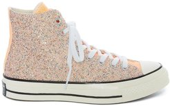 x Converse Chuck Taylor high-top sneakers - ORANGE