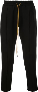 cropped track trousers - Black