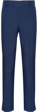 slim-fit chino trousers - Blue
