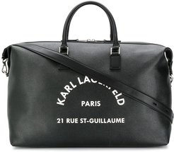 Rue St Guillaume weekend bag - Black