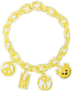 chain necklace - Yellow
