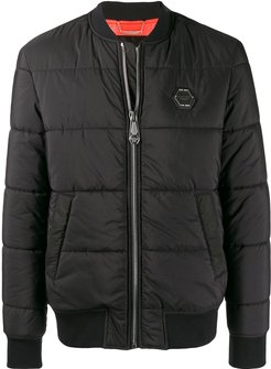 Statement padded jacket - Black