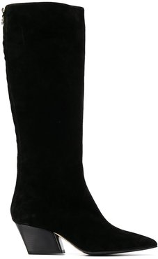 Harper knee-length boots - Black