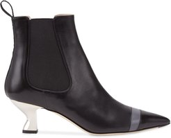 Colibrì pointed ankle boots - Black