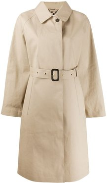 ABERDEEN Fawn x Leopard Oversized Single Breasted Trench Coat   LR-1003 - NEUTRALS