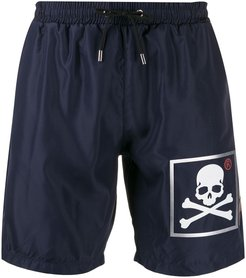 20th Anniversary swimming shorts - Blue