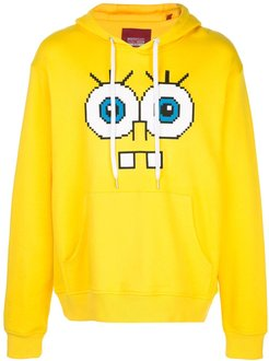 Snaggle Teeth motif hoodie - Yellow