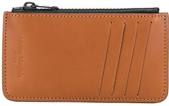 zipped wallet - Brown