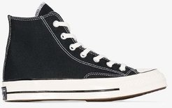 Black Chuck 70 high top sneakers
