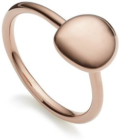 Nura Small Pebble Stacking ring - PINK
