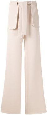 High Tailoring palazzo pants - NEUTRALS