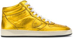 lace up sneakers - Yellow