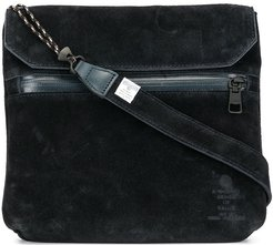 touch strap messenger bag - Blue