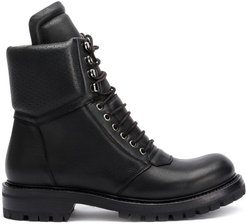 Larry Army ankle boots - Black