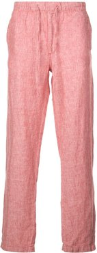 relaxed fit Carter trousers - Red