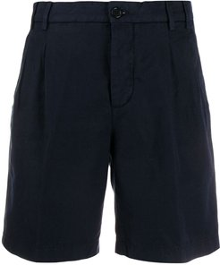 classic tailored shorts - Blue