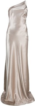 Roxy one-shoulder evening dress - GOLD