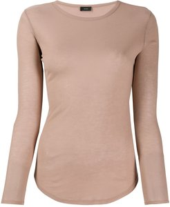 fitted knit jumper - NEUTRALS