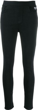 stretch slim-fit jeans - Black