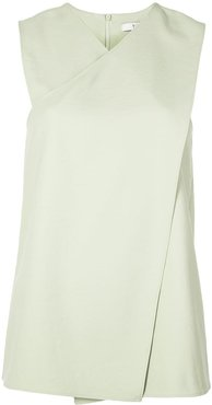 front wrap top - Green