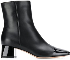 toe cap ankle boots - Black
