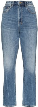 Chlo Wasted high-waisted jeans - Blue