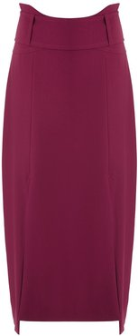 Lawrence midi skirt - Red