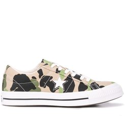 One Star Ox low top trainers - Green
