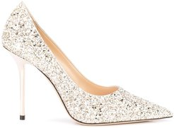 Love 100 pumps - GOLD