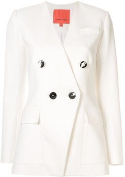 Keynote double-breasted blazer - White