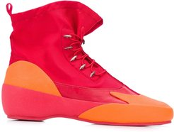 Together ankle boots - Red