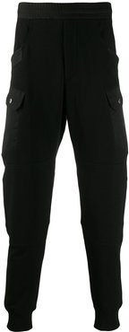 relaxed jogging trousers - Black