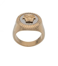 Medusa charm ring - GOLD