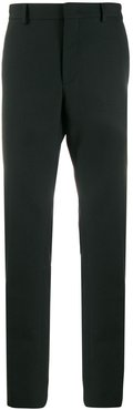 chain detail tailored trousers - Black