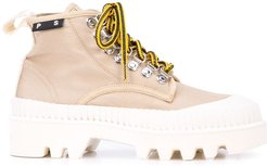 Lug Sole boots - Neutrals