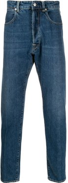 tapered slim-fit jeans - Blue