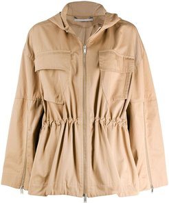 Kaylah short parka - Brown