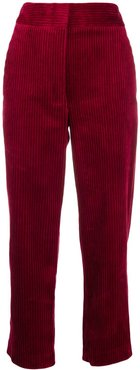 corduroy trousers - Red