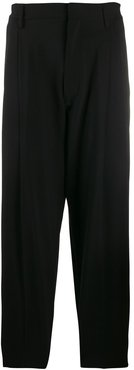 classic tailored trousers - Black