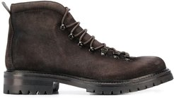 lace tactical boots - Brown