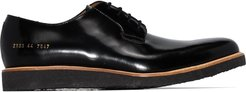 low-top Derby shoes - Black