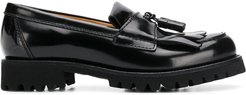 Ady leather loafers - Black
