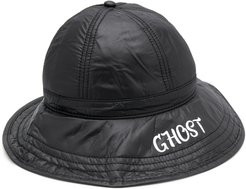 ghost print fisherman hat - Black