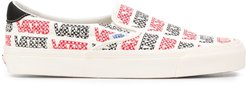 all-over logo sneakers - White