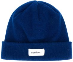 Villy double-layered beanie - Blue