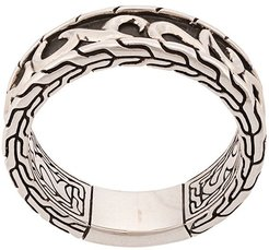 Classic Chain Keris Dagger band ring - SILVER