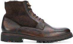 Gilford lace-up ankle boots - Brown