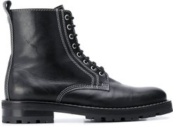Worker ankle boots - Black